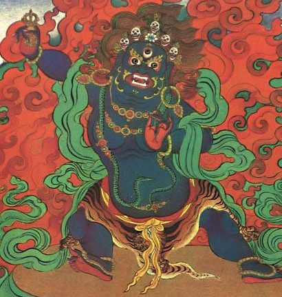 wrathful deity, Tibetan Buddhist